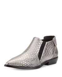 L.A.M.B. | Black Memento Pointy-toe Bootie | Lyst