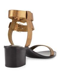 Pour La Victoire - Multicolor Dagney Double-wrap City Sandal - Lyst