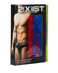 2xist - Red Double Diamond No-show Briefs for Men - Lyst