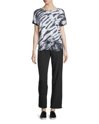 Marc New York - Multicolor Short-sleeve Layered Tie-dye Top - Lyst