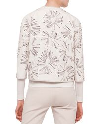 Akris Punto - Multicolor 3/4-sleeve Matchstick Reversible Jacket - Lyst
