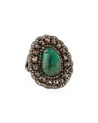 Bavna - Green Emerald - Lyst
