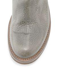 Brunello Cucinelli - Green Texan Taste Leather Western Boot for Men - Lyst