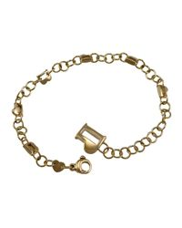 Pasquale Bruni - Metallic 18k Logo Charm Bracelet - Lyst