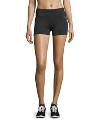 Marika Tek | Black Madison Laser-cut Shorts | Lyst