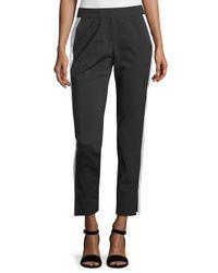 Lafayette 148 New York | Black Side Seam Pants | Lyst