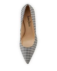 Neiman Marcus - Metallic Cissy Printed Pointed-toe Pump - Lyst