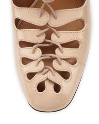 The Row - Natural Dixie Leather Mules - Lyst