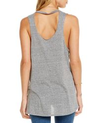 Chaser - Gray Beer Taco Muscle Tee - Lyst