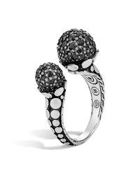 John Hardy - Dot Black Sapphire Ring - Lyst