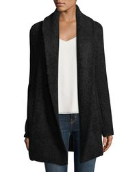 Joie | Black Solome Long Chunky Sweater | Lyst