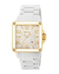 Brera Orologi | Stella Ceramic Yellow Gold Ip Watch | Lyst