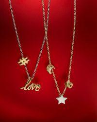 Kendra Scott - Metallic 14k Gold-plated Number 6 Charm - Lyst