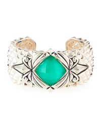 Stephen Webster   Multicolor Spiked Crystal Haze Quartz Cuff Bracelet   Lyst