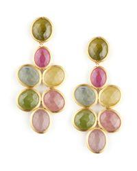 Marco Bicego | Multicolor Siviglia 18k Small Sapphire Chandelier Earrings | Lyst