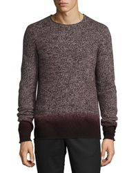 Vince   Black Cashmere-blend Ombré Sweater for Men   Lyst