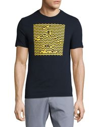 Original Penguin | Red Optical Penguin-graphic Jersey T-shirt for Men | Lyst