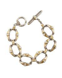 Konstantino | White Amphitrite Pearl Link Bracelet | Lyst