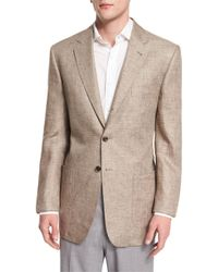 Robert Talbott | Brown Marin Three-button Jacket for Men | Lyst