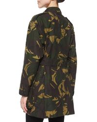 Burberry - Green Tomsdale Oversized Four-pocket Trench Coat - Lyst