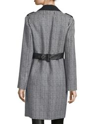 CoSTUME NATIONAL - Multicolor Long-sleeve Woven Raincoat - Lyst