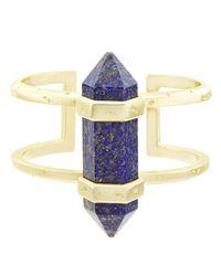 Kendra Scott - Multicolor Shelli Lapis Statement Cuff Bracelet - Lyst