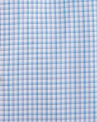 Eton of Sweden | Blue Contemporary-fit Check Dress Shirt for Men | Lyst