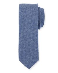 Original Penguin - Blue Lolita Solid Cotton-blend Tie for Men - Lyst