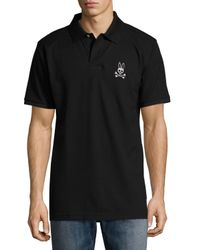 Psycho Bunny - Blue Short-sleeve Relaxed Polo Shirt for Men - Lyst