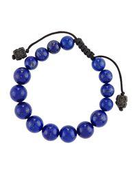 Armenta | Blue Lapis Beaded Bracelet | Lyst