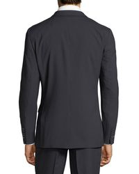 English Laundry Blue Men's Pinstriped Two-piece Suit Navy for men