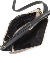 Neiman Marcus - Black Marni Fold-over Nylon Crossbody Bag - Lyst