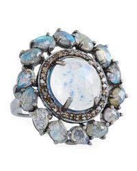 Bavna - Blue Round Moonstone - Lyst