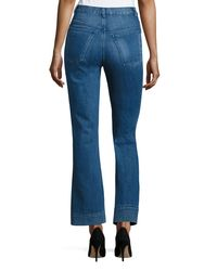 Co. Blue High-waist Flare-leg Jeans Indigo