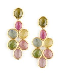 Marco Bicego | Blue Siviglia 18k Small Sapphire Chandelier Earrings | Lyst