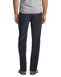 Joe's Jeans Blue Brixton Corduroy Pants for men