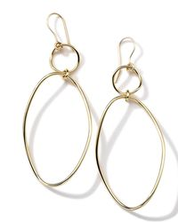 Ippolita - Metallic 18k Gold Glamazon Simple Wavy Snowman Earrings - Lyst