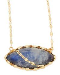Lana Jewelry - Multicolor 14k Mesmerize Marquise Onyx/moonstone Pendant Necklace - Lyst