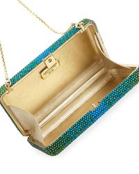 Judith Leiber Couture - Green Airstream Ombre Slim Clutch Bag - Lyst
