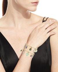 Alexis Bittar - Metallic Swinging Stone Cuff Bracelet You Might Also Like - Lyst