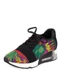 Ash Green Lacey Bis Multicolor Knit Sneaker