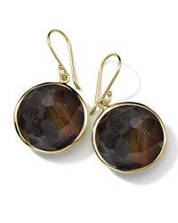 Ippolita - Black 18k Gold Rock Candy Lollipop Earrings - Lyst