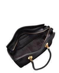 Cole Haan - Black Benson Ii Leather Work Tote Bag - Lyst