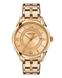 Versace - White Apollo Bracelet Watch - Lyst