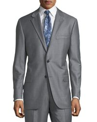 Hickey Freeman - Gray Men's Striped Two-piece Suit for Men - Lyst