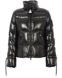 Piumino Madame nero di Moncler in Black