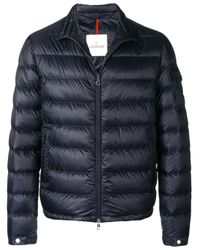 Moncler Blue Lambot Jacket for men