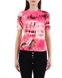 T-Shirt Dream Rosa di MSGM in Pink