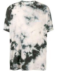 T-Shirt Tie-Dye di Off-White c/o Virgil Abloh in Gray da Uomo