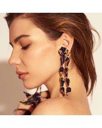 Lele Sadoughi - Multicolor Wisteria Earrings - Lyst